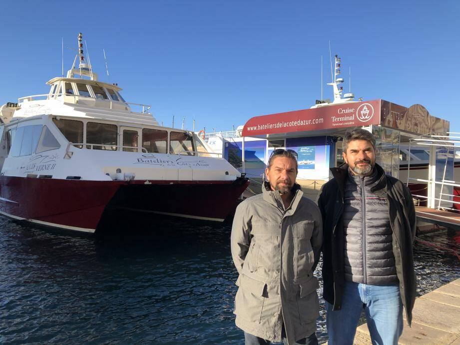 Après l'électrique, les frères Arnal, dirigeants des Bateliers de la Côte d'Azur à Toulon, ont acheté une navette à l'hydrogène unique au monde qui devrait fonctionner en rade de Toulon début 2022.