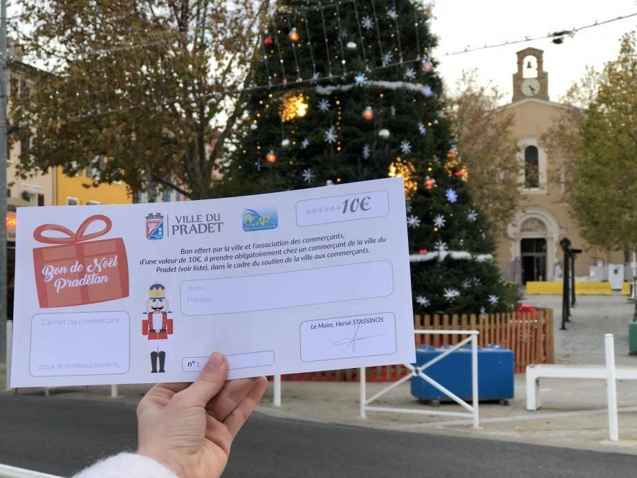 La mairie donne 10 euros à chaque foyer du Pradet pour faire ses courses de Noël dans la commune