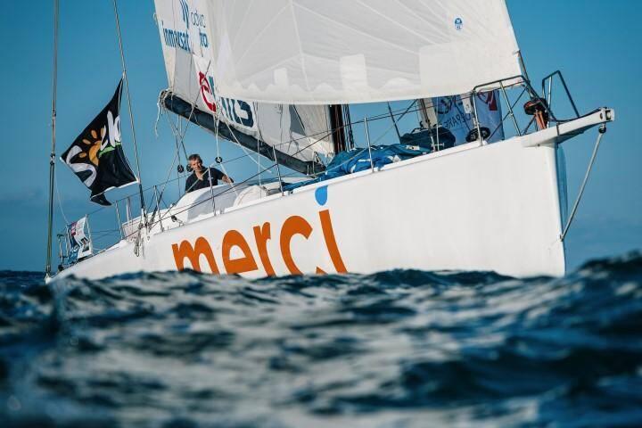 """Sébastien Destremau a signalé une """"avarie majeure de quille"""" ce mardi matin à 10h."""