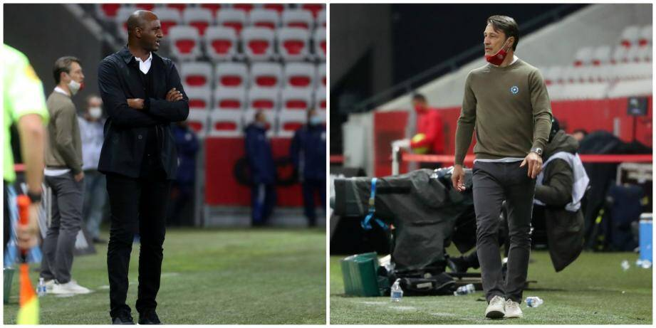 Patrick Vieira et Niko Kovac.