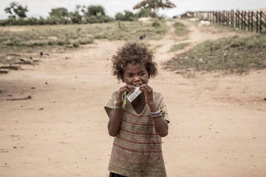"""Certains enfants risquent la mort, """"surtout si la malnutrition est accompagnée de complications, diarrhées, infections respiratoires ou paludisme""""."""