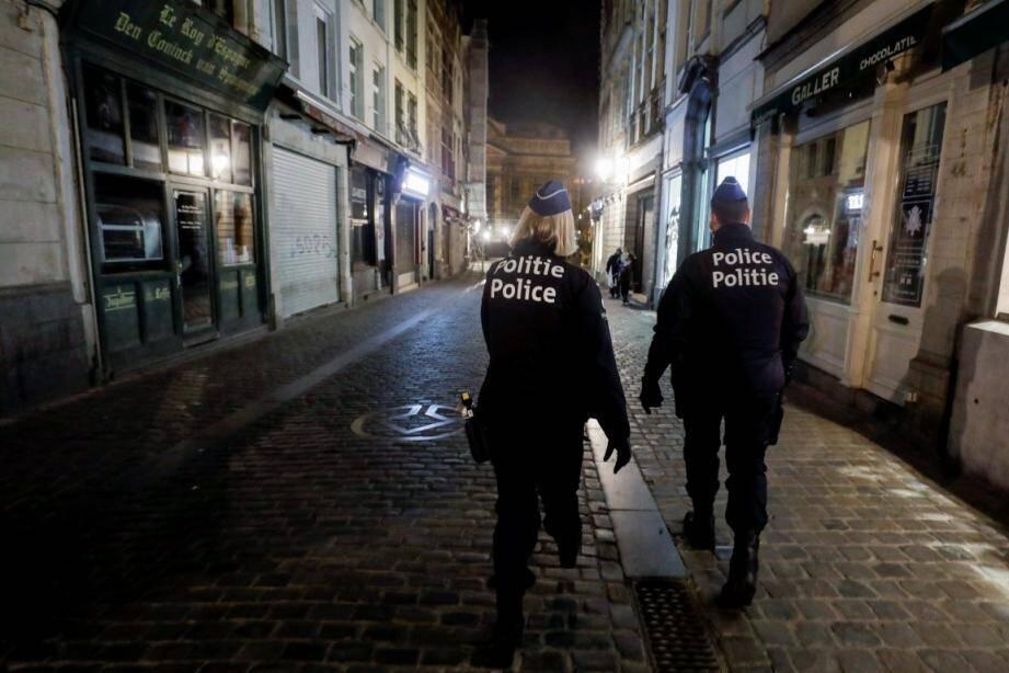 Illustration police bruxelloise.