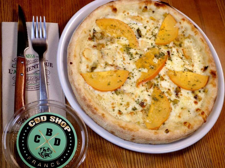 """""""L'humeur du Pizzaïolo"""" à l'Authentique est particulière cette semaine."""