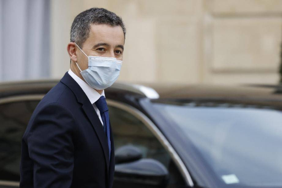 Le ministre de l'Intérieur Gérald Darmanin, le 2 décembre 2020 à Paris
