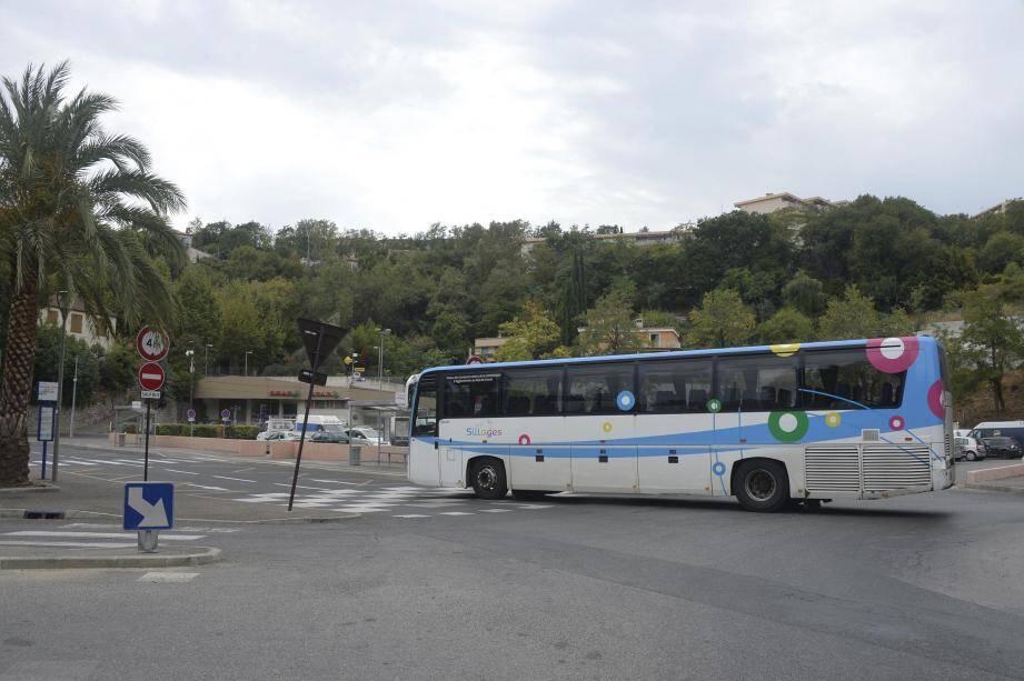 Un bus du réseau Sillages.