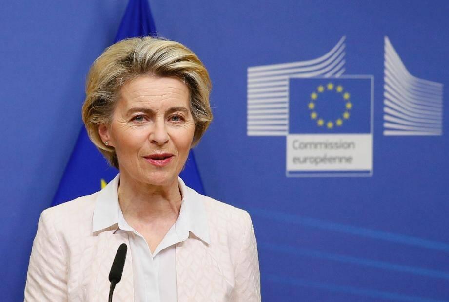 La présidente de la Commission européenne le 5 décembre 2020 à Bruxelles