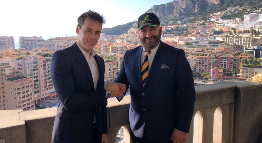 Louis Ducruet, président de la Fédération monégasque de e-sport et Mike Hessabi, président de Nicecactus, se sont associés pour organiser ce nouvel événement e-sport.