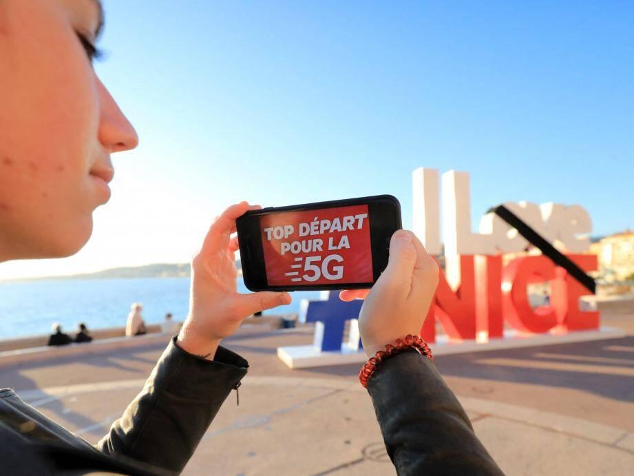 SFR a lancé son réseau 5G à Nice le 20 novembre, Orange lui emboitait le pas le 3 décembre.