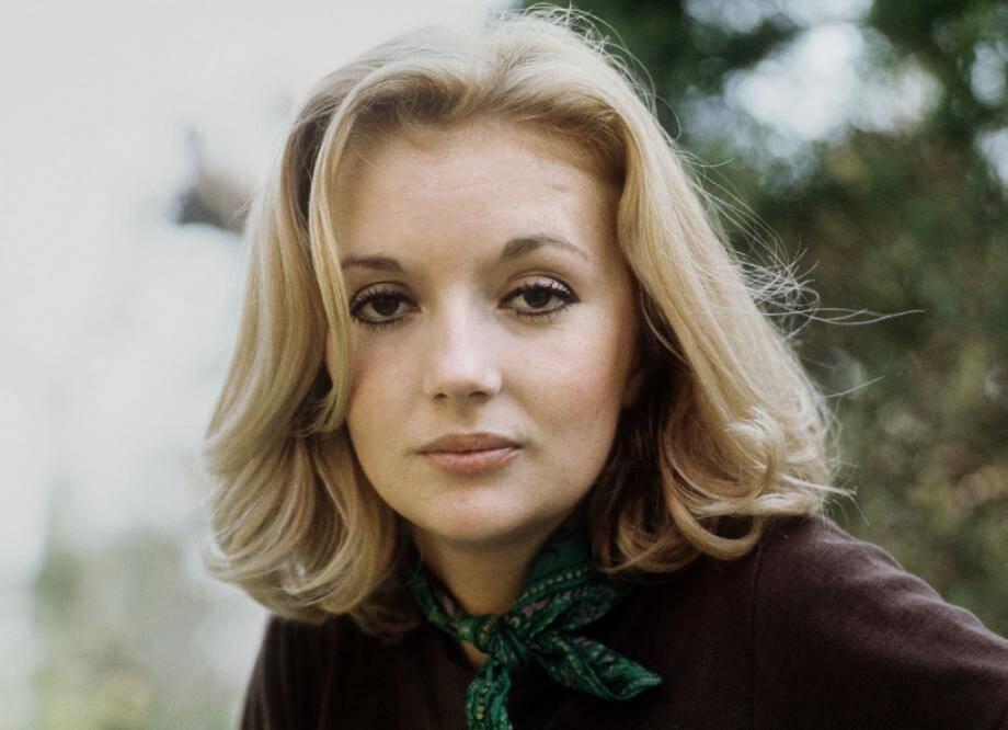 L'actrice Caroline Cellier le 1er mai 1970 à Paris lors d'une séance photo