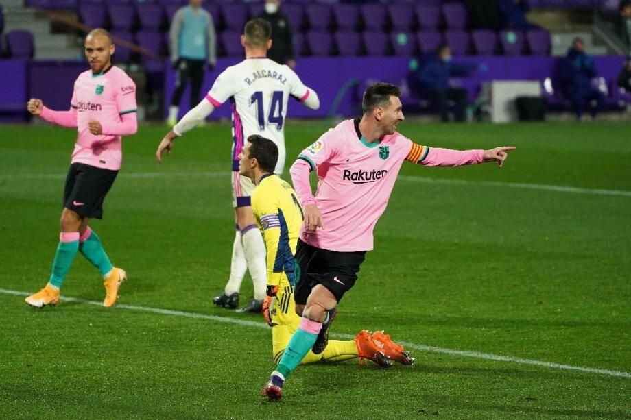 L'inévitable Lionel Messi vient de rentrer dans l'histoire en marquant son 644e but avec le FC Barcelone, le 22 décembre 2020 à Valladolid
