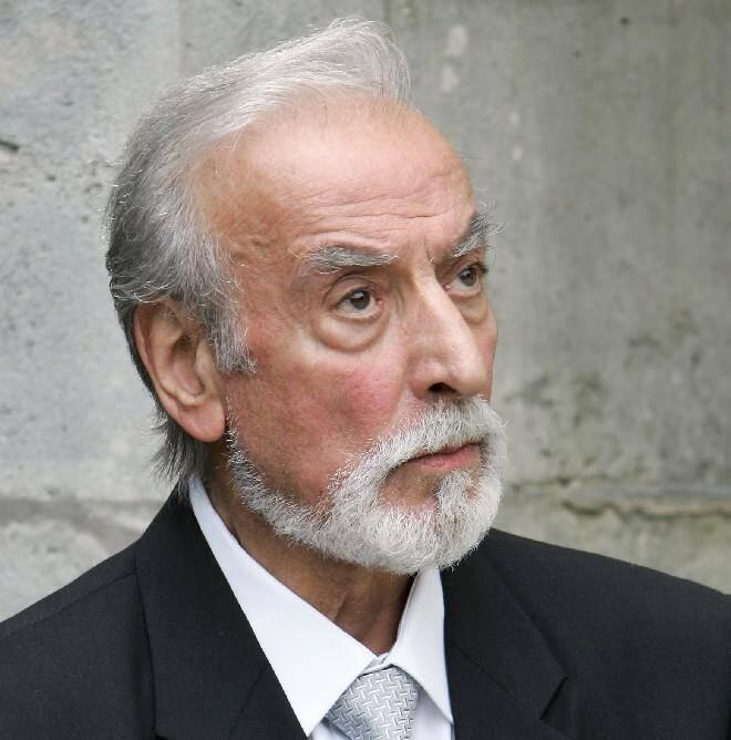 L'acteur Robert Castel le 15 juillet 2004 à Saint-Nom-La-Bretêche.