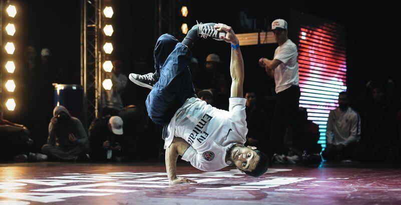 Du breakdance à La Seine Musicale à Paris.