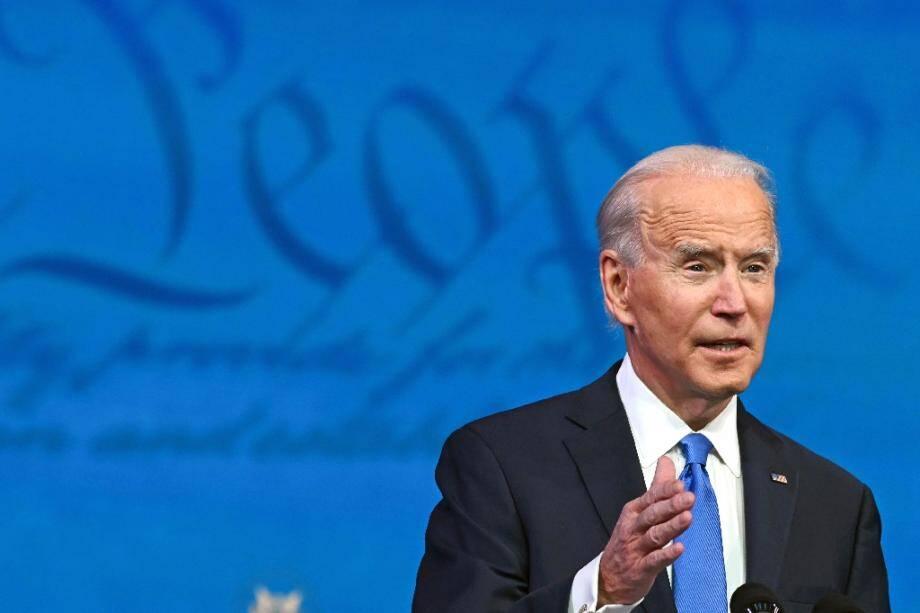 Le président élu Joe Biden, à Wilmington, aux Etats-Unis, le 14 décémbre 2020