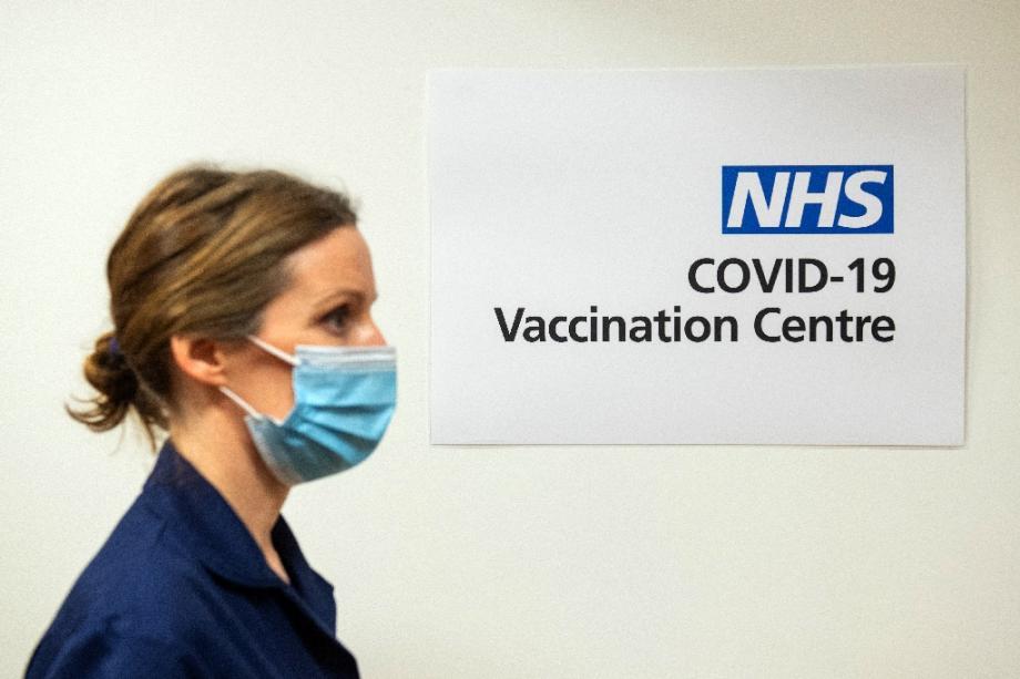 Une infirmière dans un hôpital de Londres le 7 décembre 2020