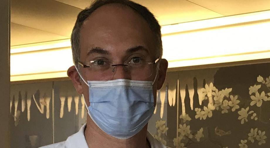 Le chef du service d'infectiologie de l'hôpital de Cannes