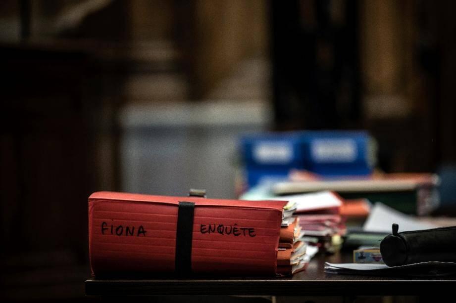 Le dossier Fiona dans la cour d'assises d'appel du Rhône à Lyon, le 4 décembre 2020