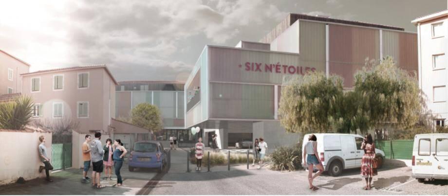 La création de cette salle de cinéma, qui pourra accueillir 118 spectateurs, prendra un an. Cette extension coûtera plus de 1,7 million d'euros.