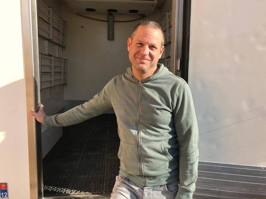 C'est à Pignans, où il vit, que Cyril Parack a lancé son drive producteurs jevousnourris.fr