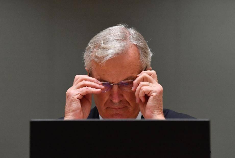 Le négociateur pour l'Union européenne Michel Barnier à Bruxelles le 22 décembre 2020