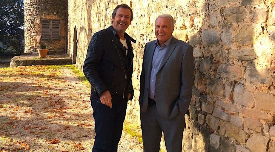Jean-Luc Reichmann et Yves Rénier.