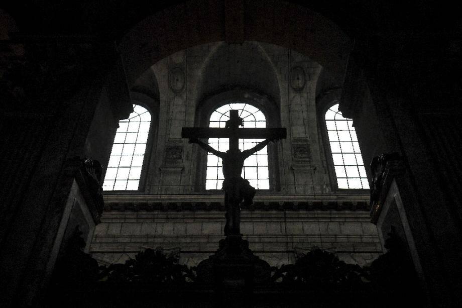 A l'église Saint-Sulpice, à Paris, le 29 novembre 2020