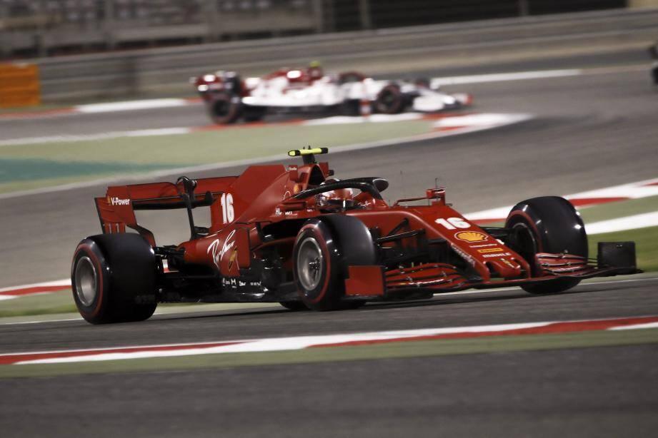 Leclerc et sa Ferrari ont repris des couleurs...