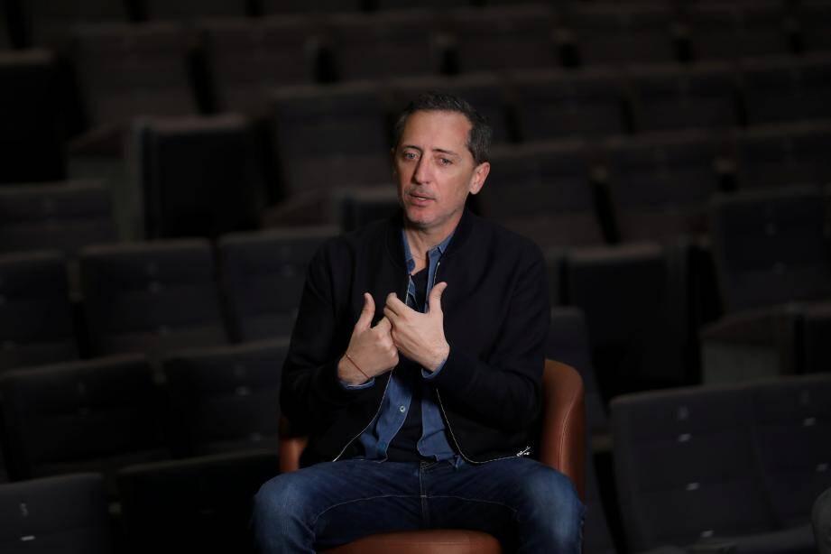 Gad Elmaleh sera au Théâtre de la Renaissance, à Saint-Tropez, les 18 et 19 décembre prochain