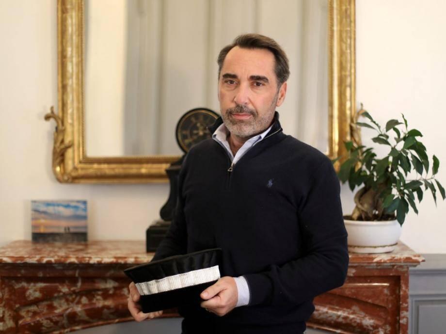 François Mortini vient d'être nommé président du tribunal de commerce.