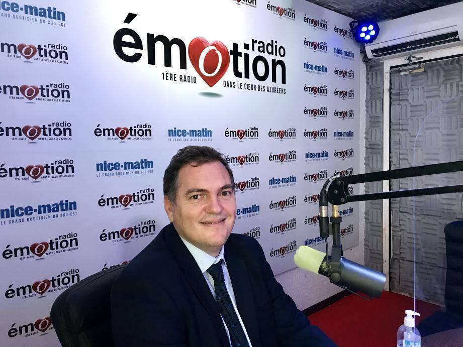 Philippe Tabarot, sénateur LR des Alpes-Maritimes et conseiller régional, était ce samedi 5 décembre à 13h l'invité d'Emotion à la Une, l'émission de la rédaction de Nice-Matin sur Radio Emotion.