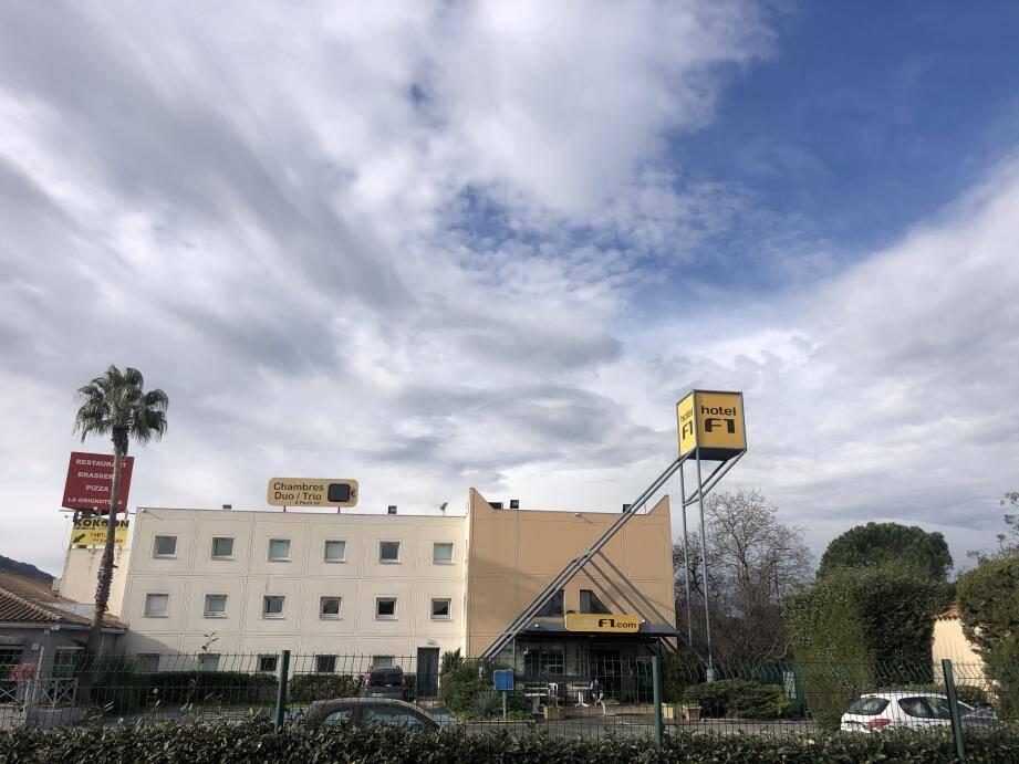 L'hôtel Formule 1 de Roquebrune-sur-Argens
