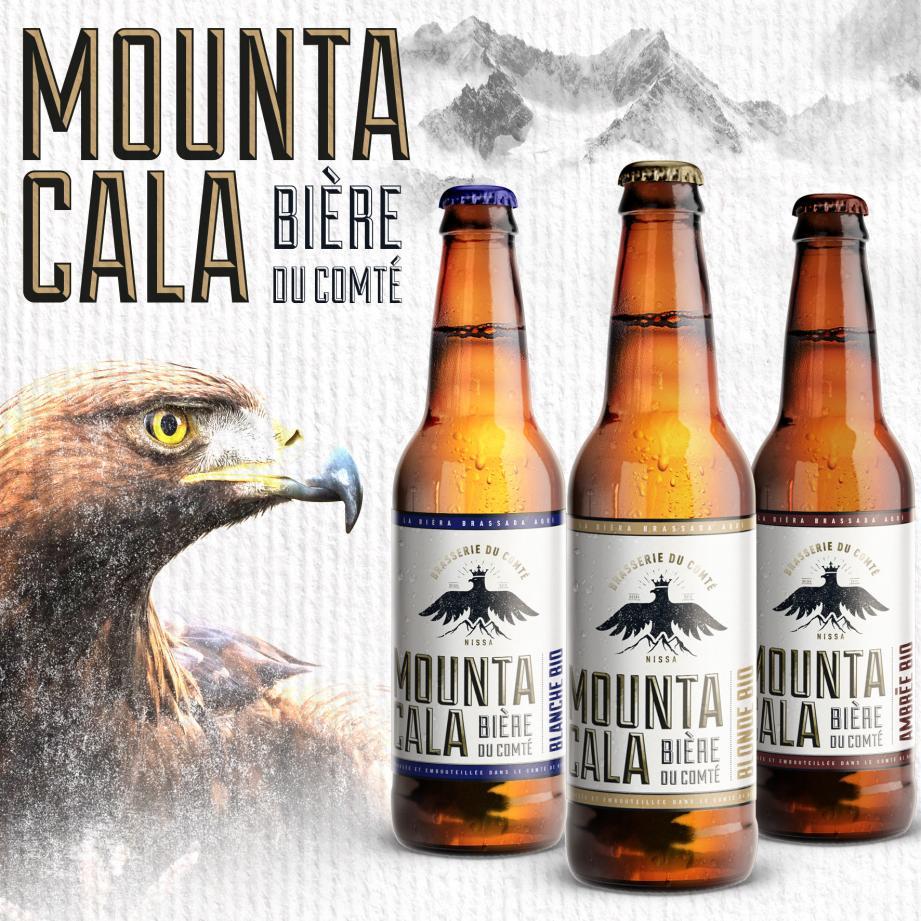 La Brasserie du Comté présente sa nouvelle bière.