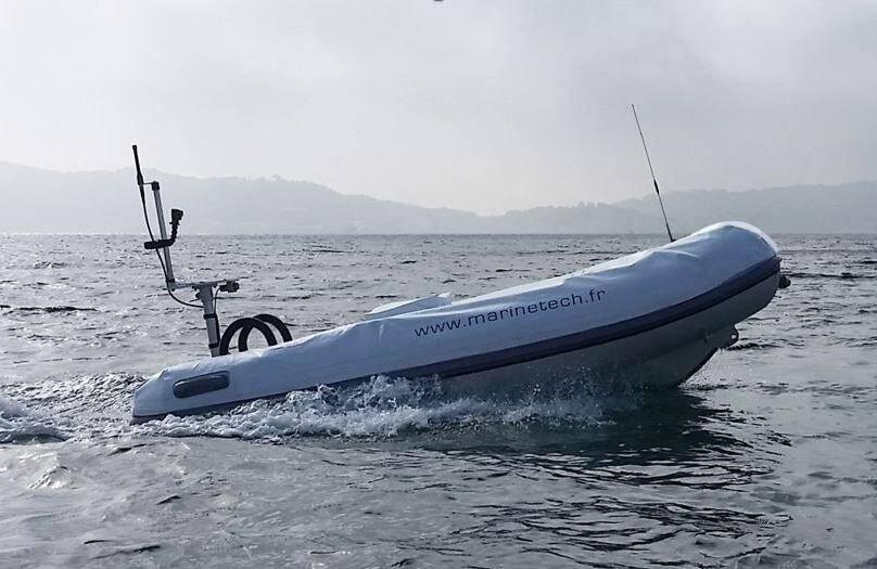 Le RSV Orca servira notamment aux missions de cartographie en mer de la Marine nationale.