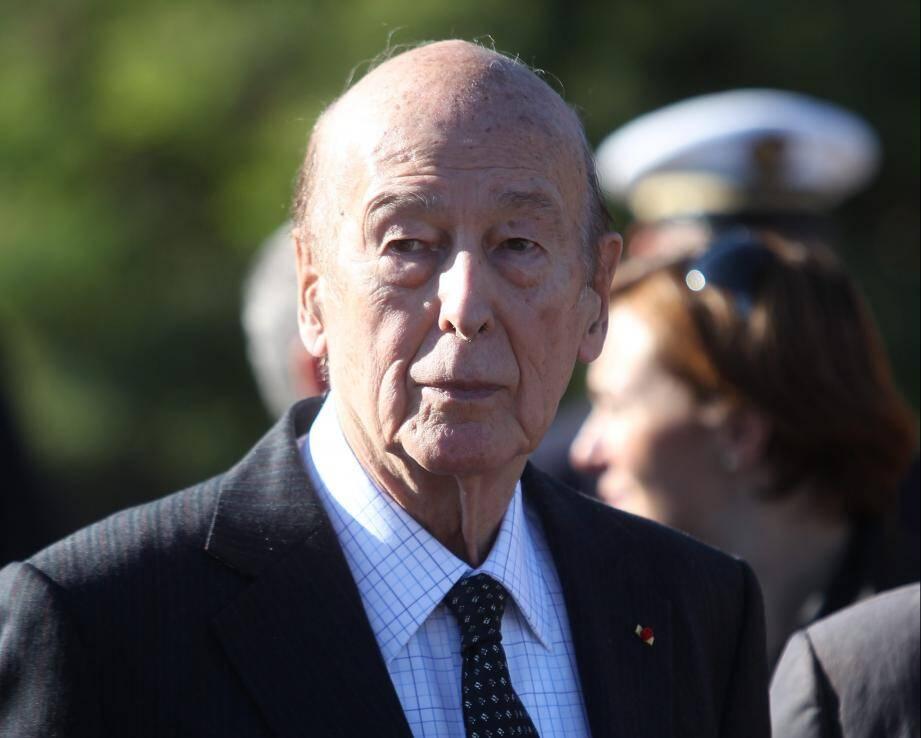 Valery Giscard dEstaing à Fréjus en 2012.