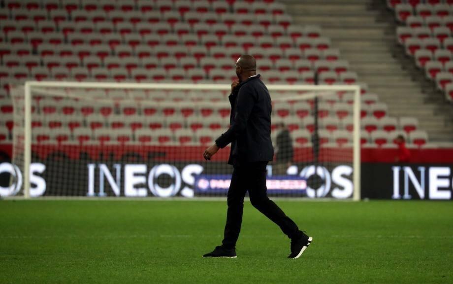 Patrick Vieira n'est plus l'entraîneur de l'OGC Nice.