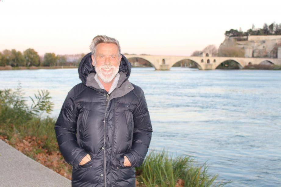 Laurent Paganelli, chez lui, à Avignon.
