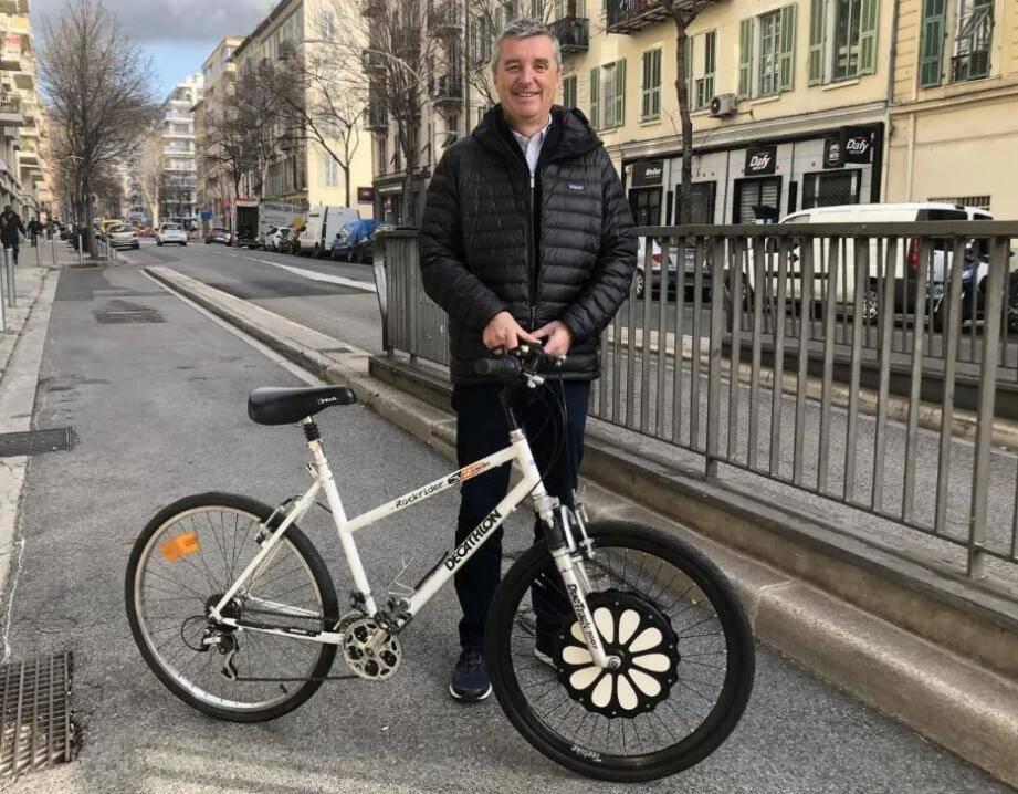 Laurent Durrieu, cofondateur de la startup niçoise Teebike roule écolo ET labellisé!