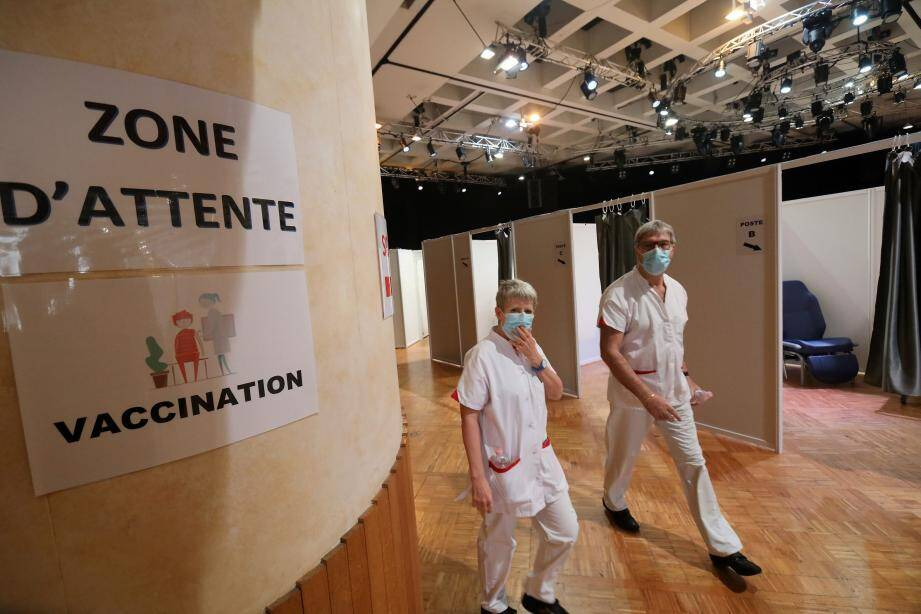 Brignoles accueillera-t-il bientôt un centre de vaccination, comme ici, à Monaco?