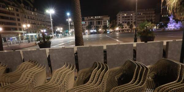 Illustration à Toulon.