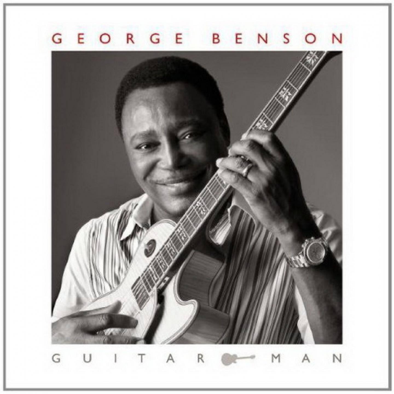 George Benson en juillet 2010 à Juan-les-Pins : il avait reçu la Victoire du jazz pour l'ensemble de sa carrière.(Photo Frantz Bouton)