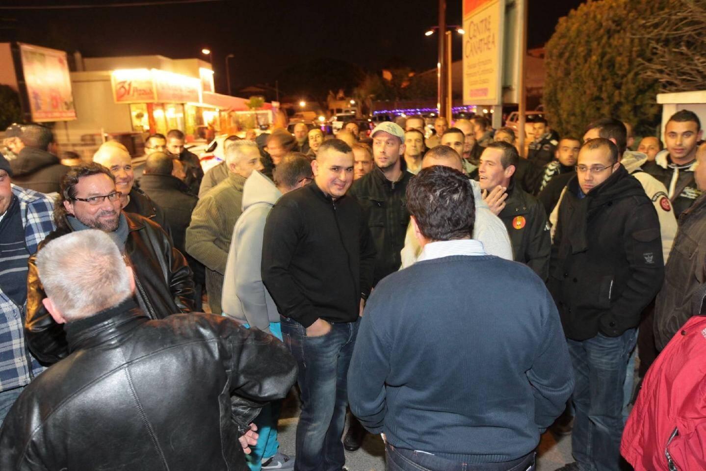 Les employés de RBTP sont venus nombreux soutenir leur patron et dénoncer les propos tenus régulièrement à l'encontre de leur société.