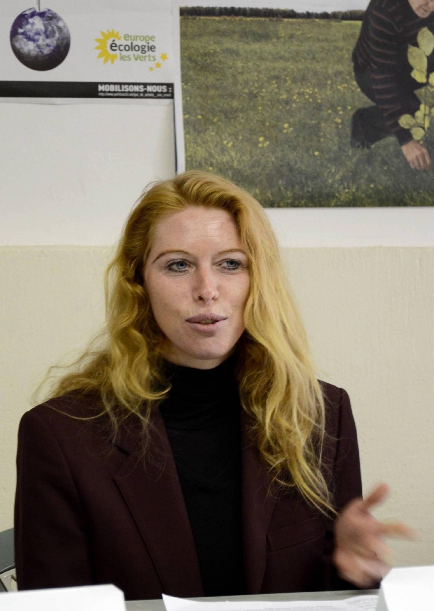 À 44 ans, Delphine Van Hoorebeke brigue un premier mandat politique.
