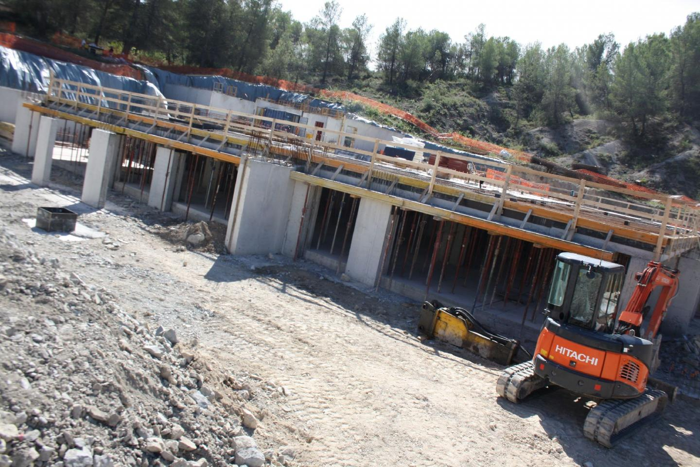 Le chantier a démarré il y a quelques mois déjà.