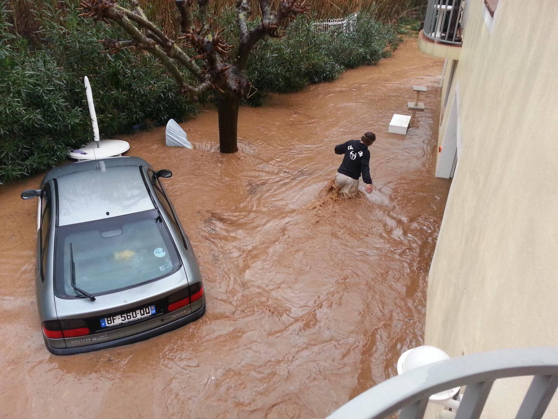 inondation lavandou