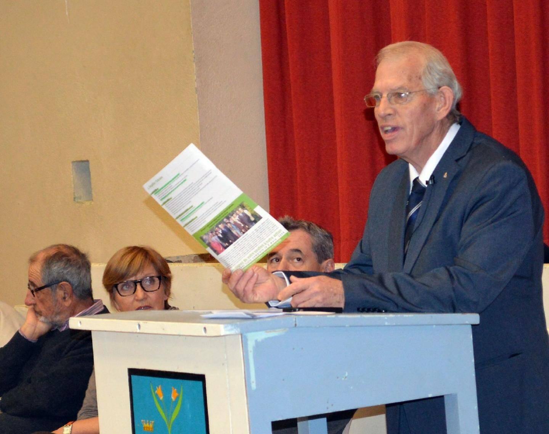 Joël Pasquelin, candidat à la mairie de Spéracèdes