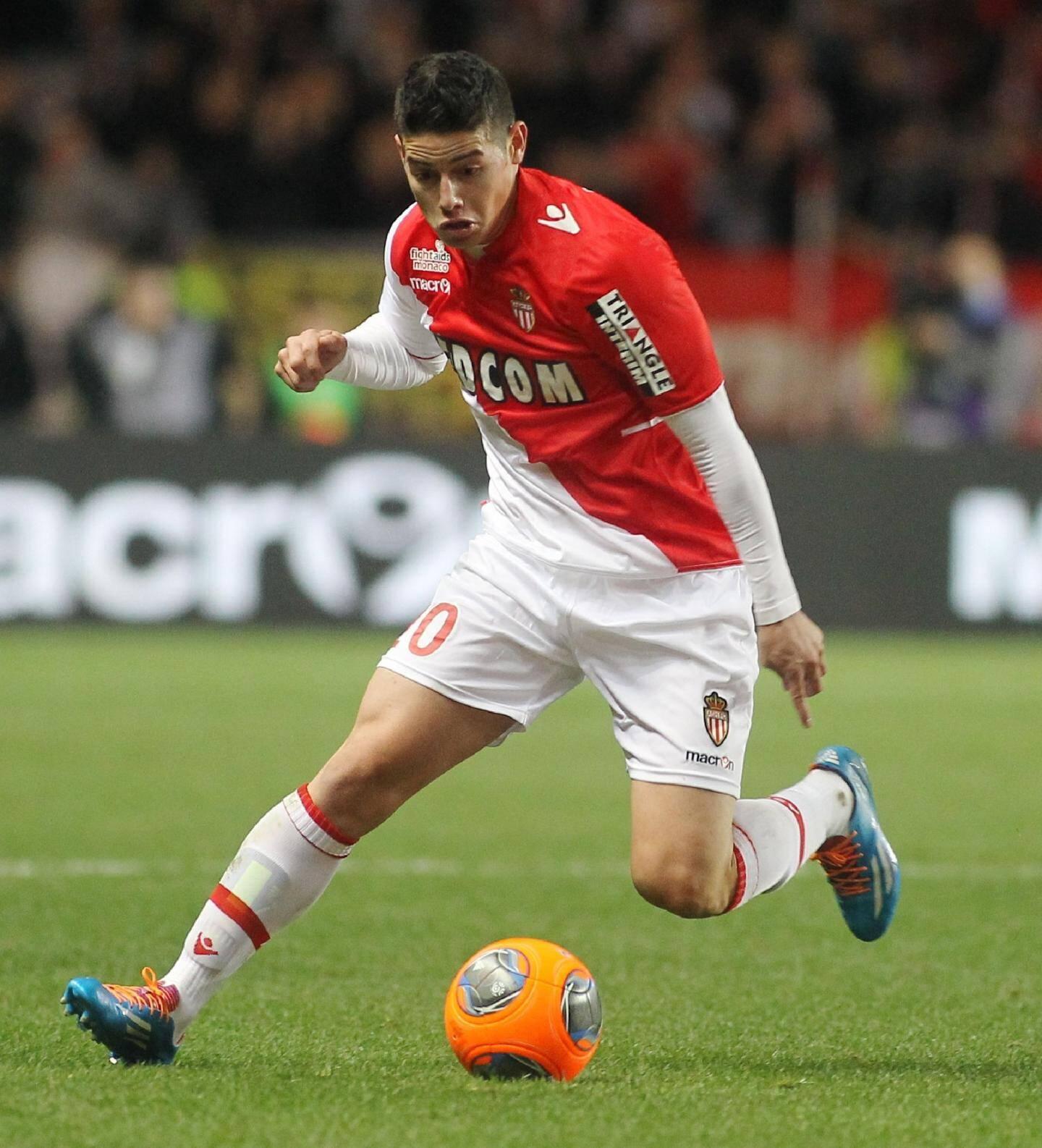 """James Rodriguez: cinq buts et neuf passes à son actif. L'artiste est un joueur """"concret, efficace et pas égoïste"""", souligne Claudio Ranieri."""