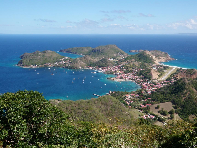 La rade des Saintes, en Guadeloupe.