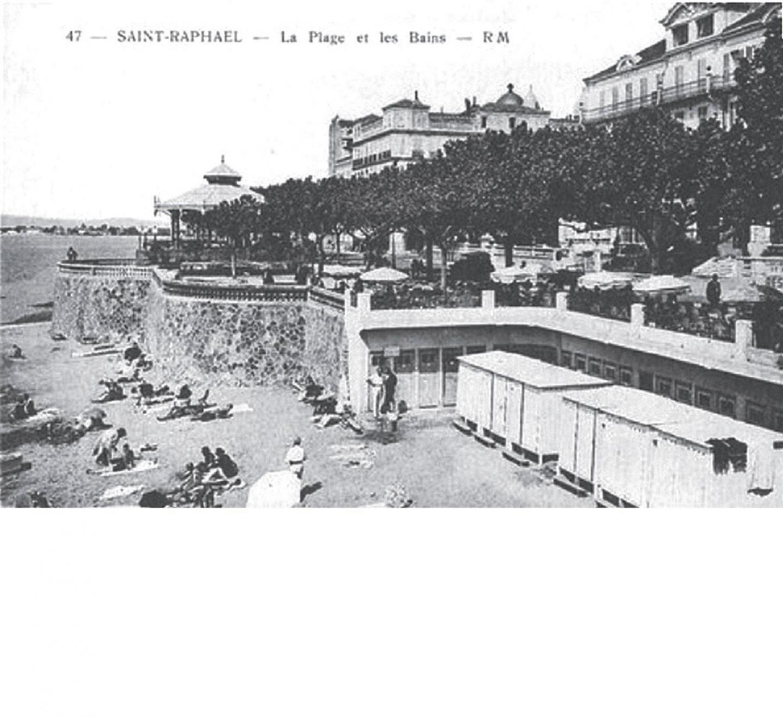 Saint-Raphaël, dans les années 1940.