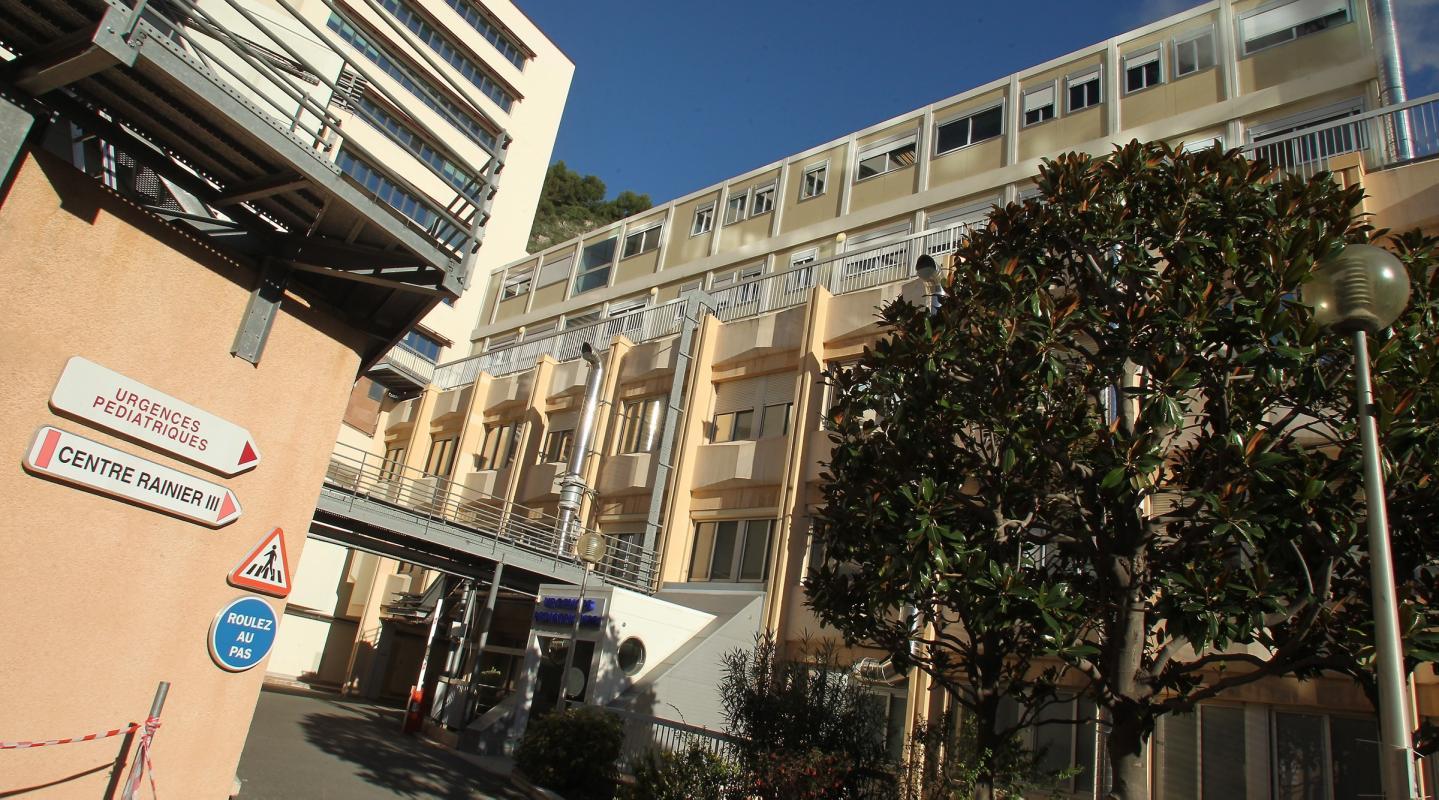 Le centre hospitalier Princesse Grace où doit accoucher Charlène de Monaco.