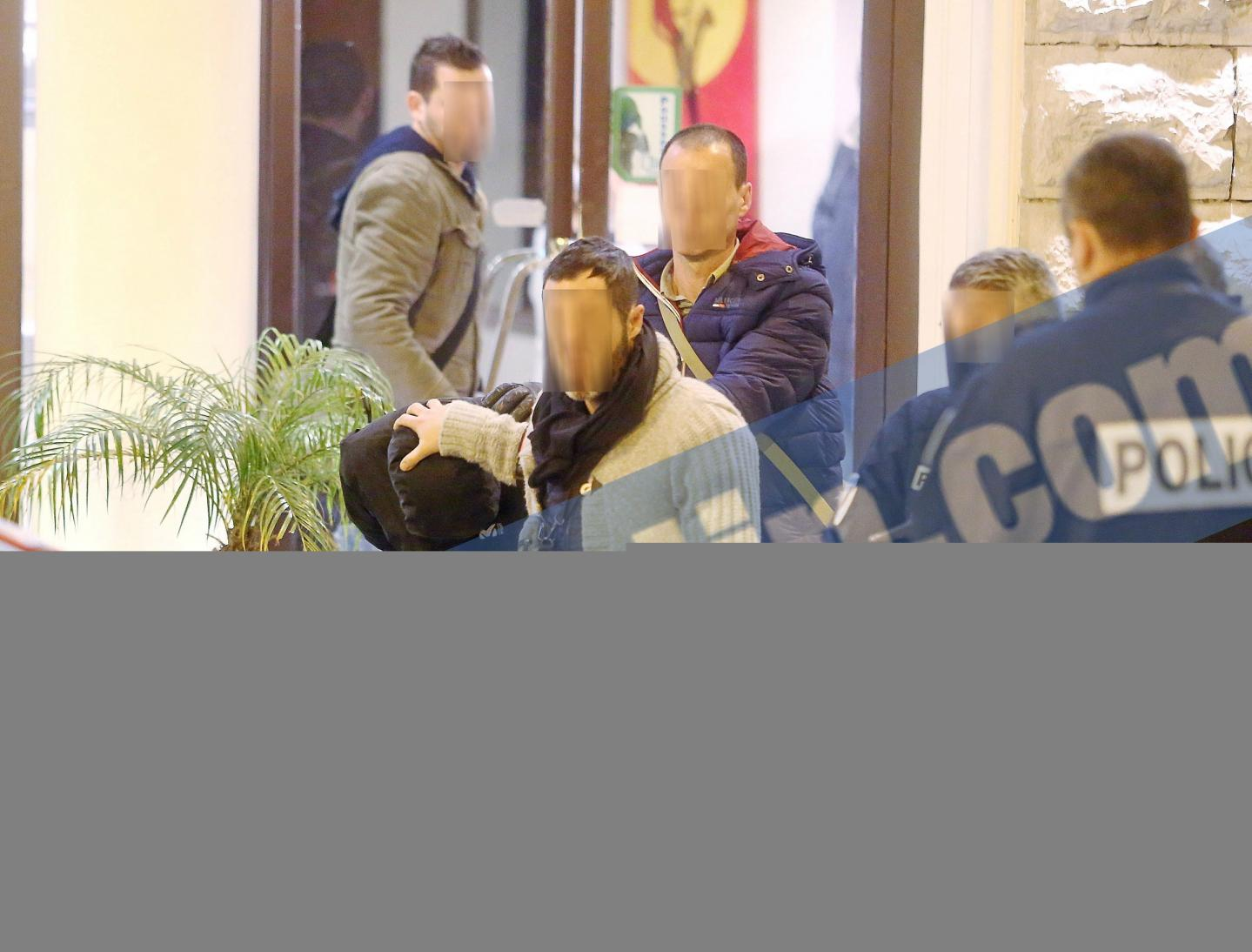 Moussa Coulibaly, à la sortie de la perquisition de sa chambre d'hôtel
