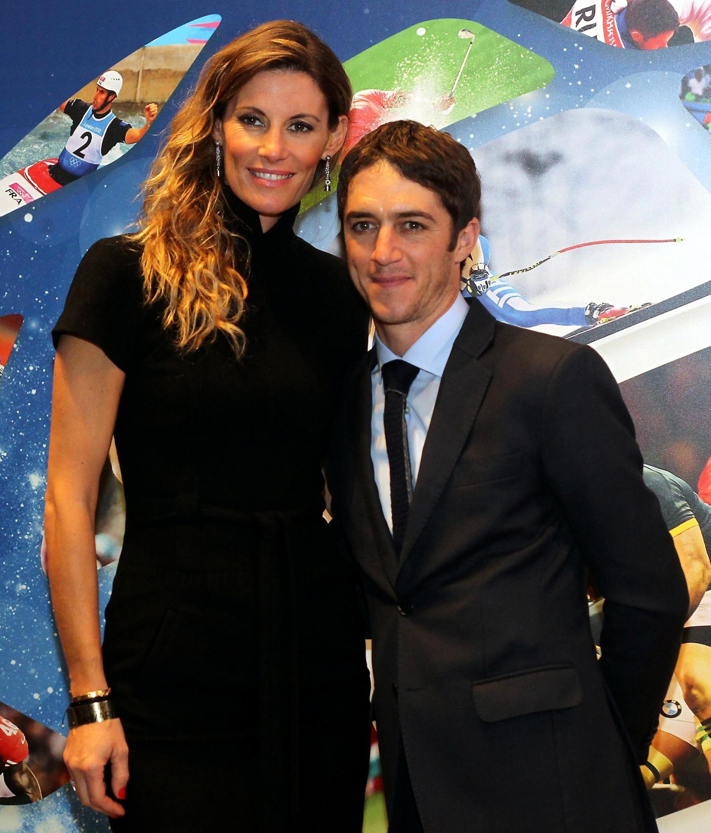 L'ex Miss France Sophie Thalmann accompagnait son mari, le jockey Christophe Soumillon, membre du jury.